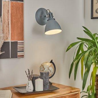 Koppom Lampa ścienna Niebeieski, Siwy, 1-punktowy