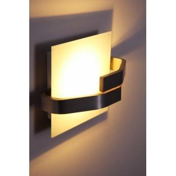 Elesi Luce lampa ścienna LED Srebrny, 1-punktowy