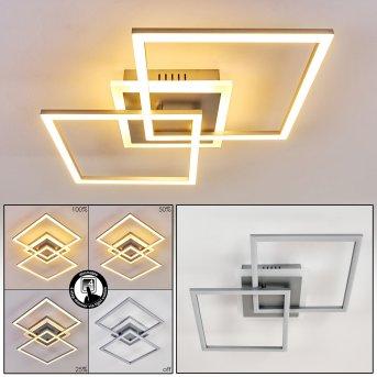 Lithgow Lampa Sufitowa LED Srebrny, 1-punktowy