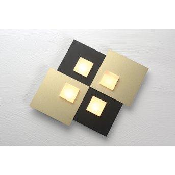 Bopp PIXEL Lampa Sufitowa LED Czarny, 4-punktowe