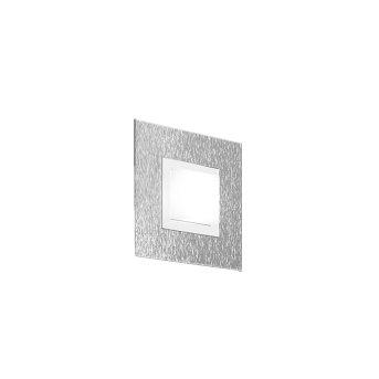 Grossmann BASIC Oświetlenie ścienne i sufitowe LED Aluminium, 1-punktowy