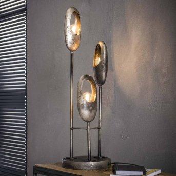 LOPPERSUM Lampa stołowa Czarny, Siwy, 3-punktowe