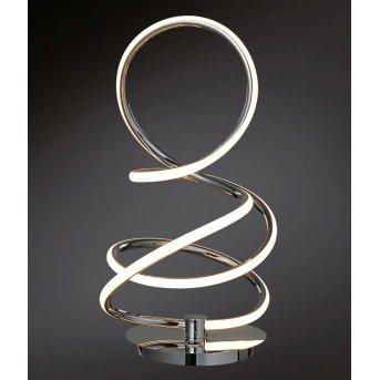 Wofi SOLLER Lampa stołowa LED Chrom, 1-punktowy