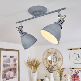 Koppom Lampa Sufitowa Niebeieski, Siwy, 2-punktowe