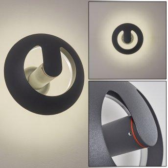 Nyborg Zewnętrzny kinkiet LED Antracytowy, 1-punktowy