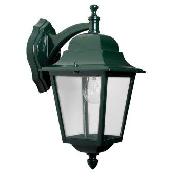 KS Verlichting Sorrento Lampa ścienna Zielony, 1-punktowy