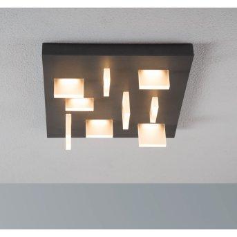 Escale Sharp Lampa Sufitowa LED Antracytowy, 9-punktowe