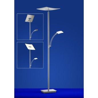 Lampa Stojąca B-Leuchten MODENA LED Nikiel matowy, Chrom, 2-punktowe