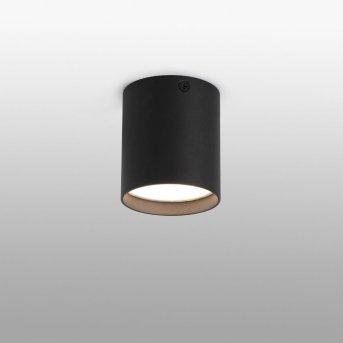 Faro Barcelona Haru Lampa Sufitowa LED Czarny, 1-punktowy