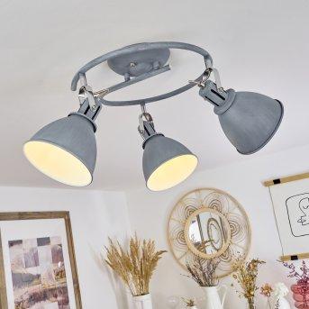 Koppom Lampa Sufitowa Niebeieski, Siwy, 3-punktowe