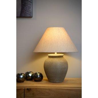 Lucide RAMZI Lampa stołowa Brązowy, 1-punktowy