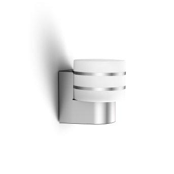 Philips Hue White Tuar Lampa ścienna LED Srebrny, Aluminium, 1-punktowy