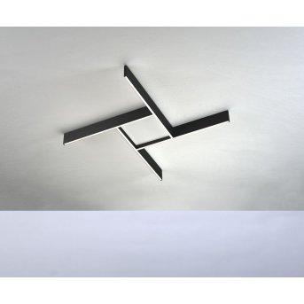 Bopp NANO PLUS COMFORT Lampa Sufitowa LED Czarny, Biały, 1-punktowy