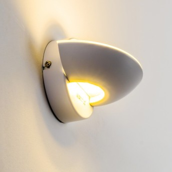 Dominical lampa ścienna LED Biały, 2-punktowe