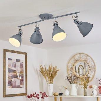 Koppom Lampa Sufitowa Niebeieski, Siwy, 4-punktowe