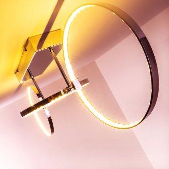 Sepino lampa sufitowa LED Chrom, 1-punktowy