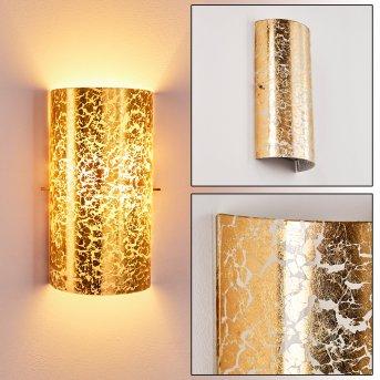 Modica Lampa ścienna Złoty, 1-punktowy