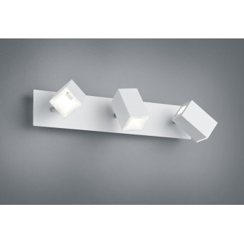 Trio LAGOS Lampa ścienna LED Nikiel matowy, 3-punktowe