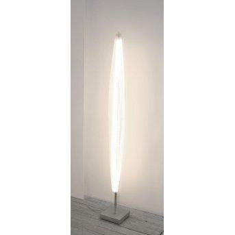 Escale Stratos Lampa Stojąca LED Nikiel matowy, 1-punktowy