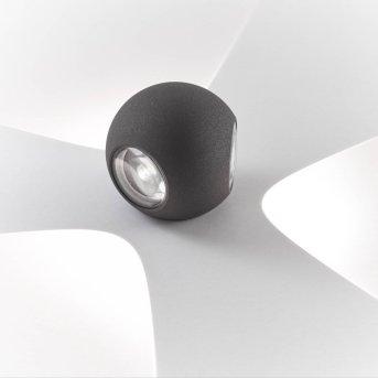 AEG Gus Zewnętrzny kinkiet LED Antracytowy, 3-punktowe