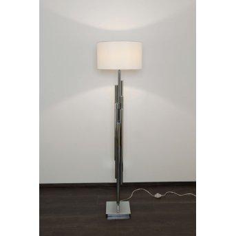 Holländer TRIMESTRE lampa podłogowa Srebrny, 1-punktowy