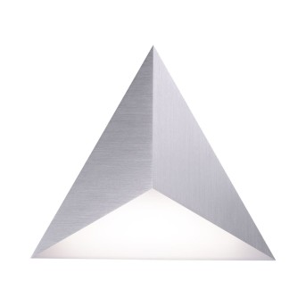 Paul Neuhaus Neuhaus Q-TETRA SATELLIT Lampa ścienna LED Nikiel matowy, 1-punktowy, Zdalne sterowanie