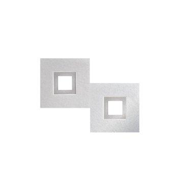 Grossmann KARREE Lampa Sufitowa LED Aluminium, Tytan, 2-punktowe