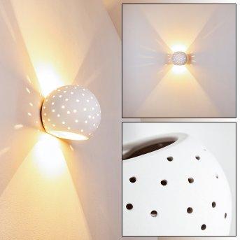 Herculano Lampa ścienna Biały, 1-punktowy