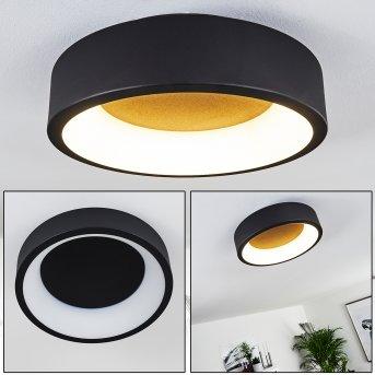 Kampala Lampa Sufitowa LED Czarny, 1-punktowy