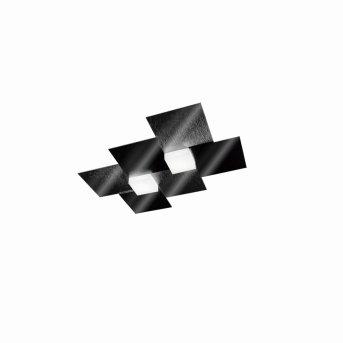 Grossmann CREO Oświetlenie ścienne i sufitowe LED Czarny, 2-punktowe