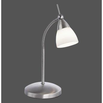 Paul Neuhaus PINO Lampa stołowa LED Stal nierdzewna, 1-punktowy