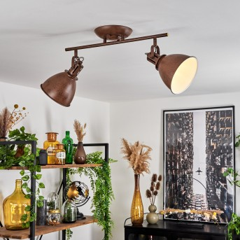 Koppom Lampa Sufitowa Rudy, 2-punktowe