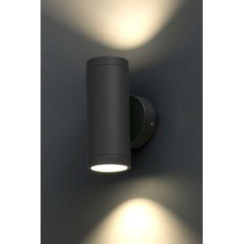 Faro Cobo Lampa ścienna LED Antracytowy, 1-punktowy