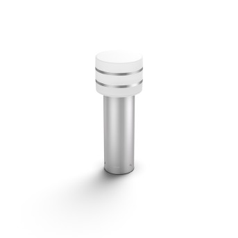 Philips Hue White Tuar Lampa na cokół LED Srebrny, Stal nierdzewna, 1-punktowy