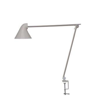 Louis Poulsen NJP Lampa stołowa LED Siwy, 1-punktowy