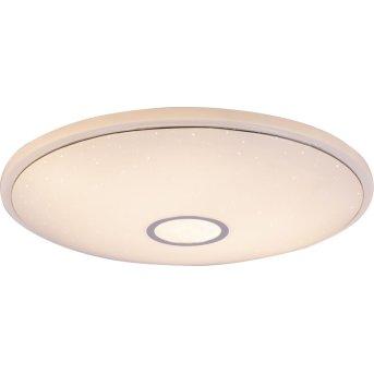 Lampa Sufitowa Globo CONNOR LED Biały, 1-punktowy, Zdalne sterowanie, Zmieniacz kolorów