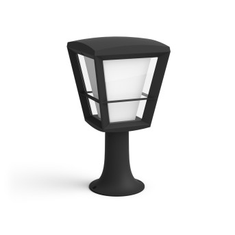 Philips Hue Ambiance White & Color Econic Lampa na cokół LED Czarny, 1-punktowy, Zmieniacz kolorów
