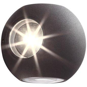 AEG Gus Zewnętrzny kinkiet LED Antracytowy, 4-punktowe