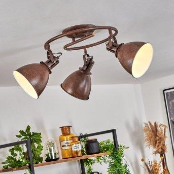 Koppom Lampa Sufitowa Rudy, 3-punktowe