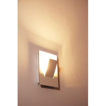 Eva Luz Alpha lampa ścienna LED Biały, 1-punktowy