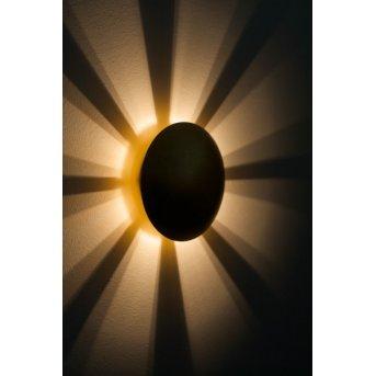 Brilliant Sunset lampa ścienna Złoty, 1-punktowy