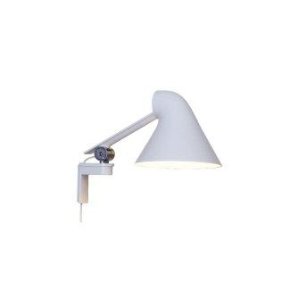 Louis Poulsen NJP Lampa ścienna LED Biały, 1-punktowy