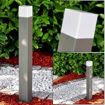 Zewnętrzna Lampa Stojąca Algier LED Antracytowy, 1-punktowy