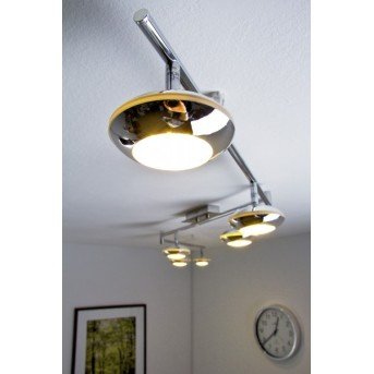 Grosseto lampy sufitowe listwy LED Chrom, 6-punktowe