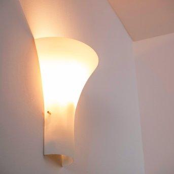 Nerola lampa ścienna Biały, 1-punktowy