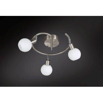 Wofi NOIS lampa sufitowa LED Nikiel matowy, 3-punktowe