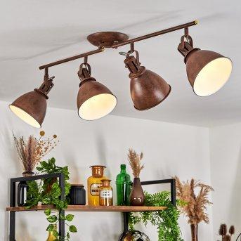Koppom Lampa Sufitowa Rudy, 4-punktowe