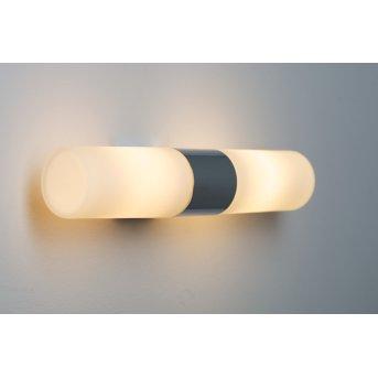 Nordlux Tangens lampa ścienna Chrom, 2-punktowe