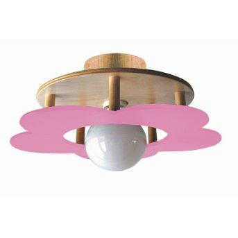 Waldi Fleur petit lampa sufitowa Różowy, 1-punktowy