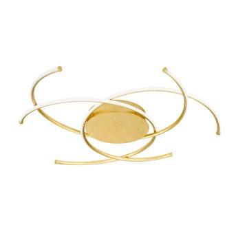 Wofi JULS Lampa Sufitowa LED Złoty, 1-punktowy